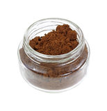 Small Jar Allspice Overhead View Royalty Free Stock Images