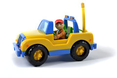Small jeep toy Stock Images