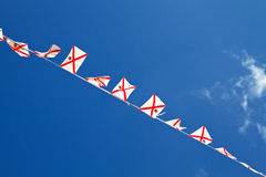 Small Jersey Flags (UK) Royalty Free Stock Image