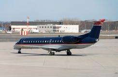 Small jet airplane Royalty Free Stock Photos
