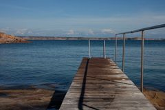 Small jetty Stock Image