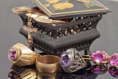 Small jewellery box Royalty Free Stock Photo