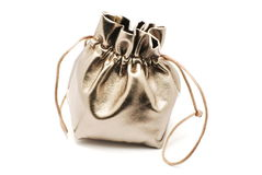 Small jewelry bag Royalty Free Stock Photography