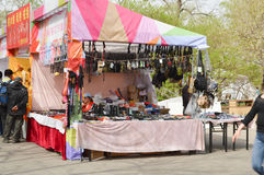 Small jewelry Trading stalls Stock Photo