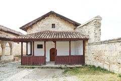 Small Kenesa (synagogue) in chufut-kale, Crimea royalty free stock images