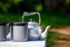 Small kettle Stock Photography