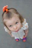 Small kid with pleadingly face Royalty Free Stock Photos