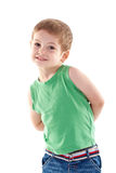 Small kid posing Royalty Free Stock Photography