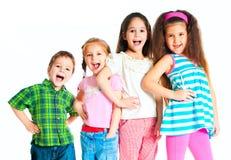 Small kids stock photo