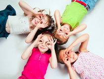 Small kids royalty free stock photo