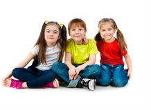 Small kids Royalty Free Stock Image