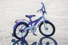 Small kids bike Royalty Free Stock Image