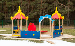 Kids playground Stock Photo
