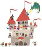 Small Kingdom on White Stock Photos
