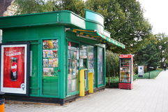 Small kiosk Royalty Free Stock Image