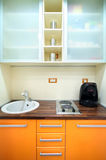 Small Kitchen Royalty Free Stock Photography