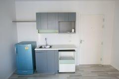 Small kitchen corner. In condominium royalty free stock photos