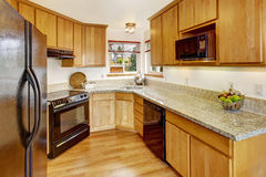 Small kitchen room interior Stock Photography