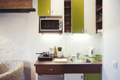 Small kitchenette Royalty Free Stock Photos
