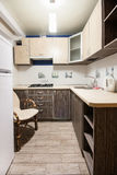Small kitchenette in a studio Royalty Free Stock Photography