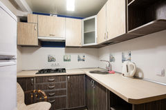 Small kitchenette in a studio Stock Photos