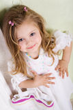Small lady Royalty Free Stock Photos