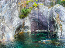 A small lagoon in mountains Royalty Free Stock Photo
