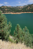 Small Lake. A small lake along the road to Yosemite National Park Royalty Free Stock Photography
