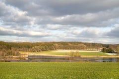 Small lake in Bavaria, Germany Royalty Free Stock Image