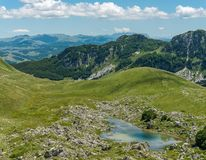 Small lake in Durmitor. Stock Images