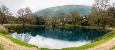 Small lake in Greece Stock Images