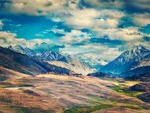 Small lake in Himalayas Stock Photo