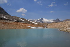 Small Lake on Iceline Trail Royalty Free Stock Photos