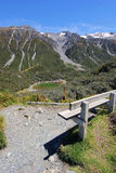 Small lake near Mt Cook royalty free stock photography