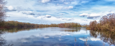 Small lake Royalty Free Stock Photos