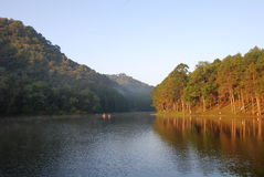 Small Lake in Parng Aung,Pai,Thailand Stock Images