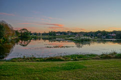 A small lake Royalty Free Stock Photo