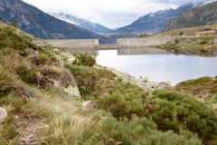 Small lake in  Pyrenees Stock Images