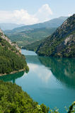 Small lake in the Pyrenees Stock Photography