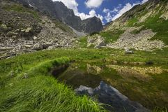 Velka Studena valley Stock Photography