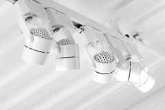 Small lamp hang on ceiling Stock Image