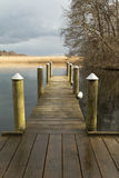Small Landing Stage Royalty Free Stock Photos