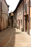 Small Lane in Urbino historical centre Stock Photography