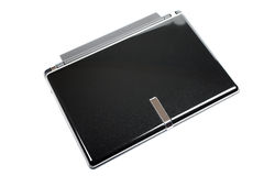 Small laptop isolated. Royalty Free Stock Images