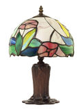Small Leaded Glass Lamp Royalty Free Stock Image