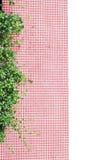 Small leaf on ceramic decor Stock Images