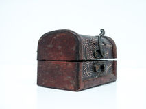 Small leather box Royalty Free Stock Images