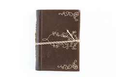Small Leather Journal stock image