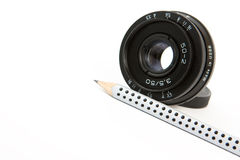 Small lens Royalty Free Stock Photography