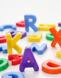 Small letters Stock Image